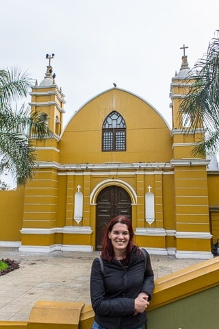 Igreja La Ermita - Barranco, em Lima