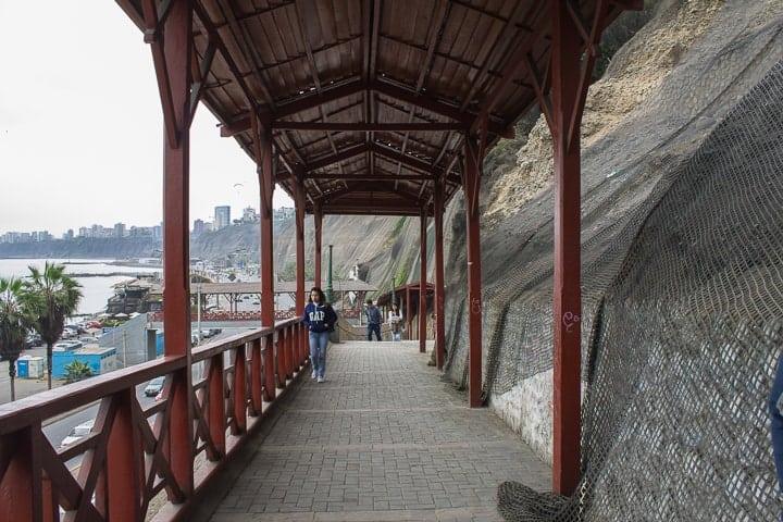 Bajada de Baños - Barranco, Lima
