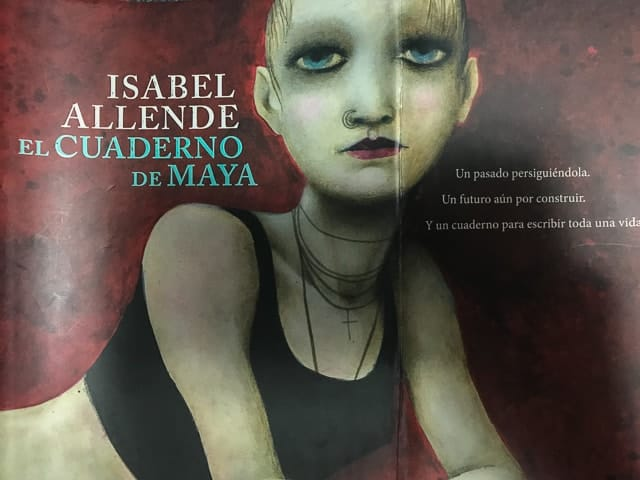 El Cuaderno de Maya - Isabel Allende - Chile - Legendi Mundi