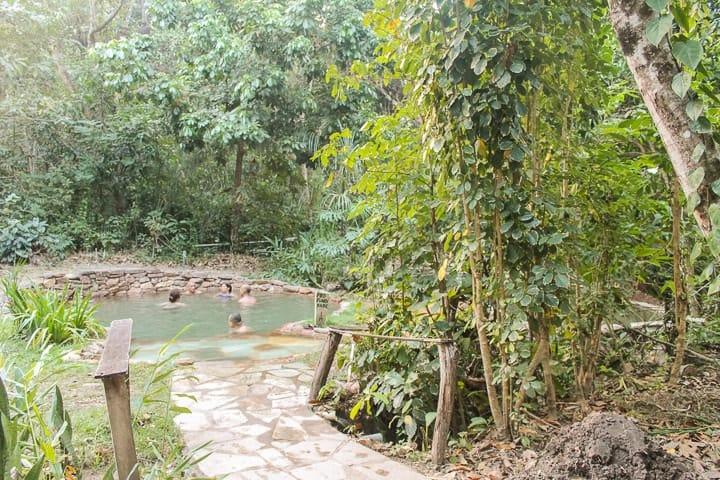 Pousada do Éden Águas Termais - piscinas de águas termais na Chapada dos Veadeiros