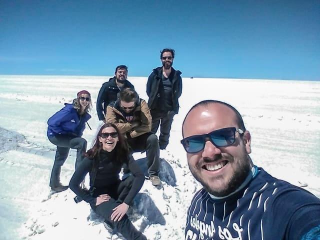 Primeiro dia no Salar de Uyuni - Pirâmides de sal