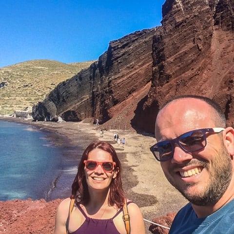 Retrospectiva de viagem 2017 - Santorini