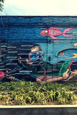 Painel aquático -AquaRio, Acme