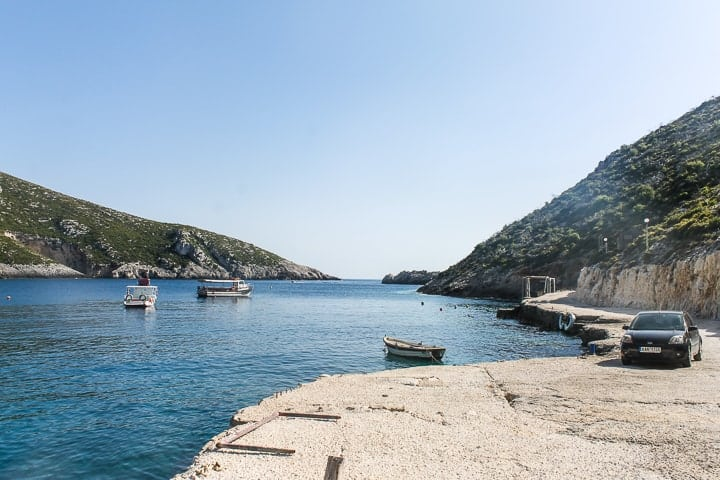 Porto Limnionas - guia de praias de Zakynthos