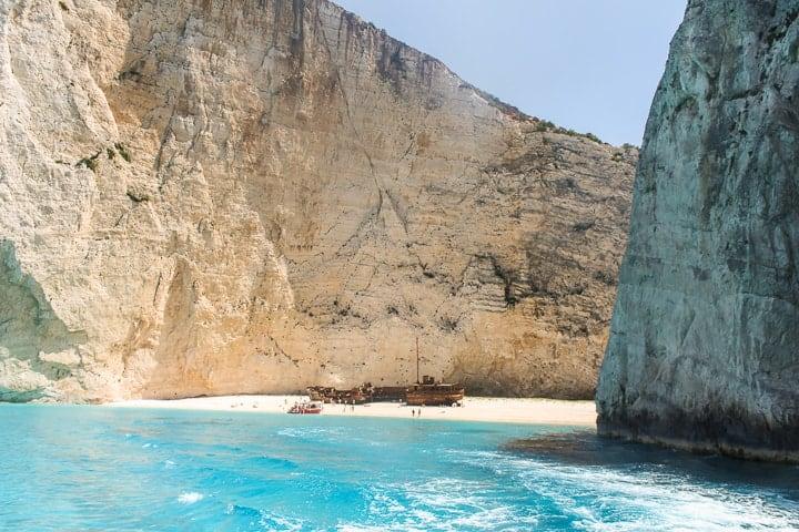 Navagio Beach - Guia de praias de Zakythos