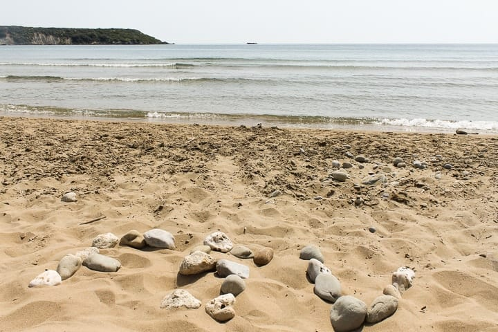 Praia Gerakas - guia de praias de Zakynthos
