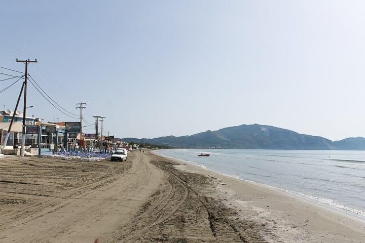 Laganas - guia de praias de Zakynthos