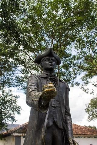 Estátua de Tiradentes, Largo do Sol, O que fazer em Tiradentes, Minas Gerais