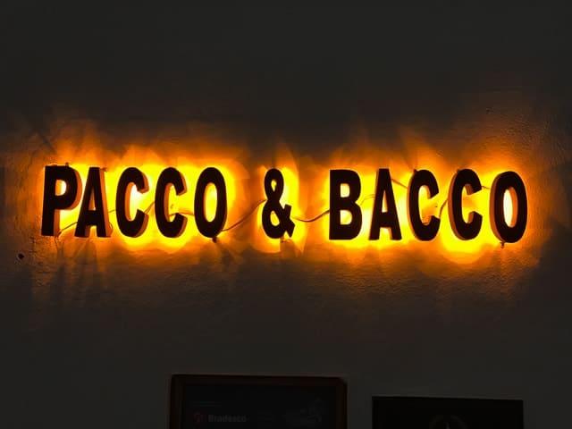 Pacco e Bacco - Onde comer em Tiradentes, Minas Gerais