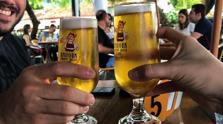 Barouk Chopp Beer Café - Onde comer em Minas Gerais