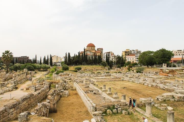 Kerameikos, Atenas