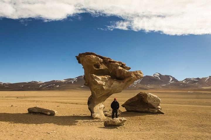 Tour Salar de Uyuni - dia 2 - Deserto de Siloli e Árvore de Pedra