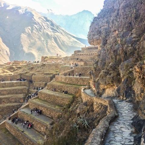 Ollantaytambo, no Peru