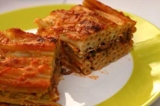 Pastitsio, culinária grega