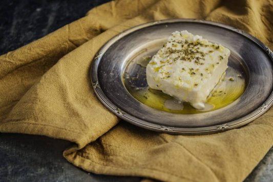 Queijo feta, culinária da Grécia