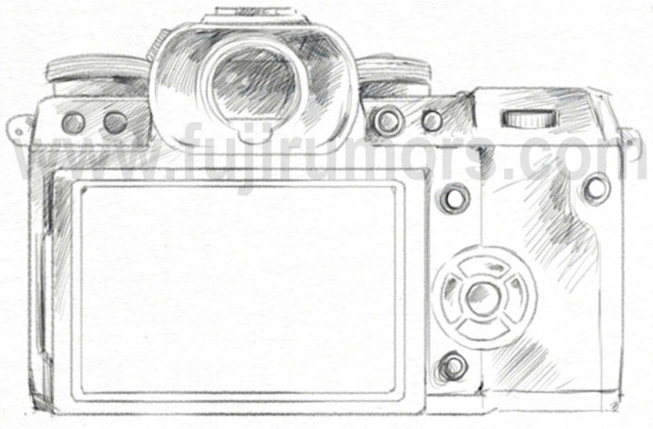 Meet the Fujifilm X-H1... Now also Top & Backside View