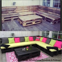 Creating Outdoor Seating Area With Skids Diy Project