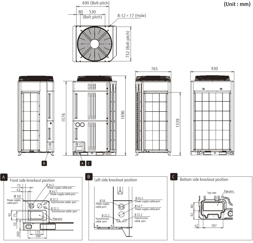 medium resolution of outdoor unit
