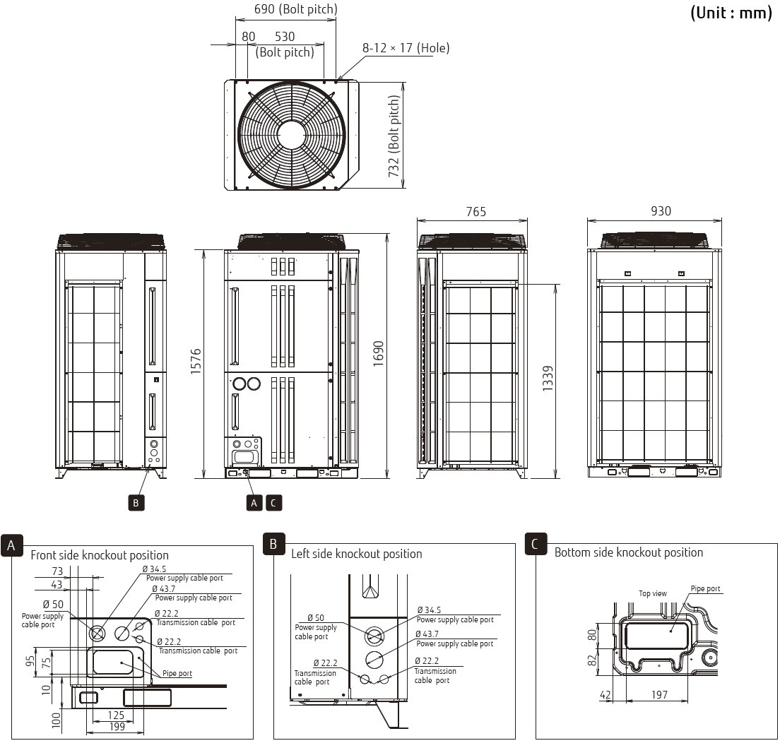 hight resolution of outdoor unit