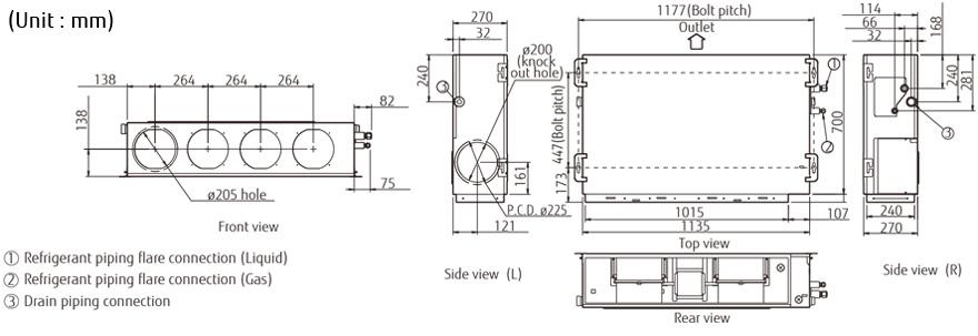 Split Systems (Air Conditioner) : ARYA30LB- FUJITSU