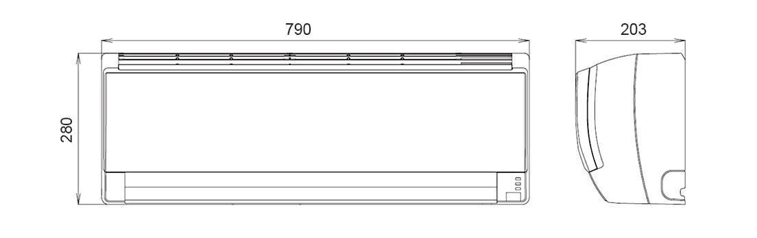 變頻一對多空調系統 : J系列 ASCG25LJTA - 富士通將軍 臺灣