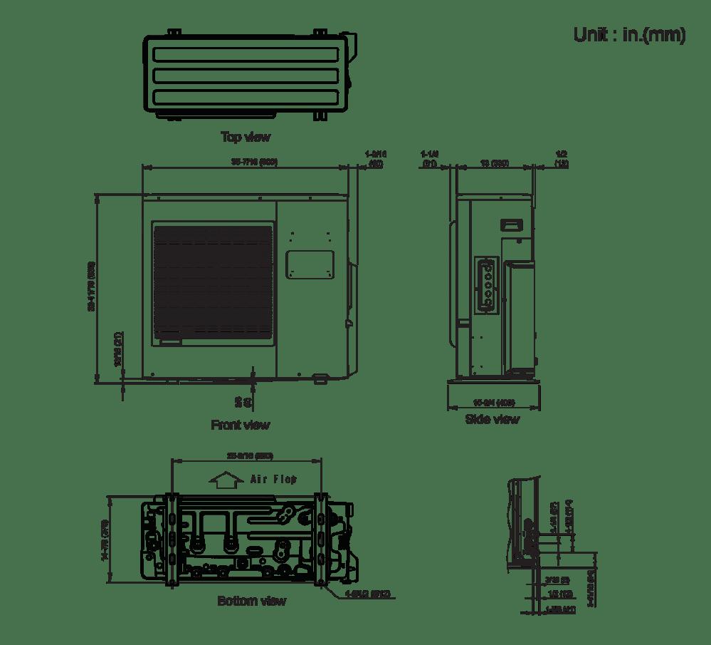 medium resolution of split parts diagram wiring diagram load ac mini split parts diagram