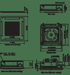 indoor unit auu36rclx [ 1104 x 1049 Pixel ]