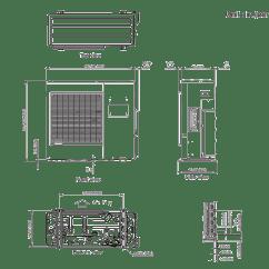 Fujitsu Ductless Split Wiring Diagram Dodge Truck Trailer Minisplit Wireing 33