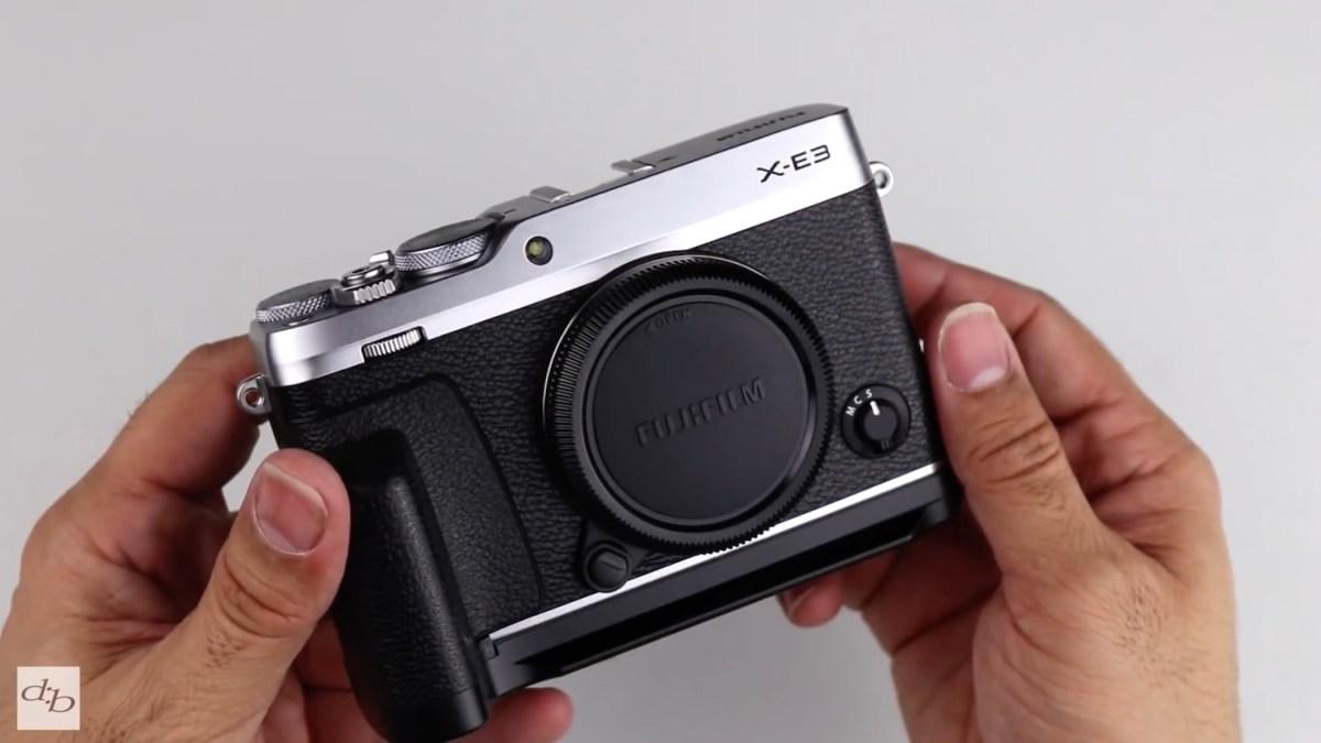 Improving the ergonomics of Fujifilm X-E3