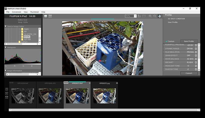 Using Fujifilm X Raw Studio - FUJI X PASSION
