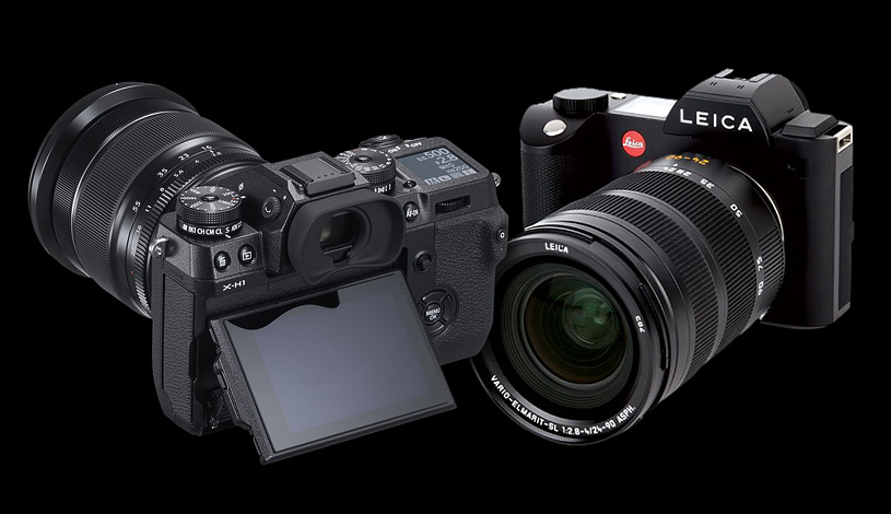Fuji X-H1 vs Leica SL
