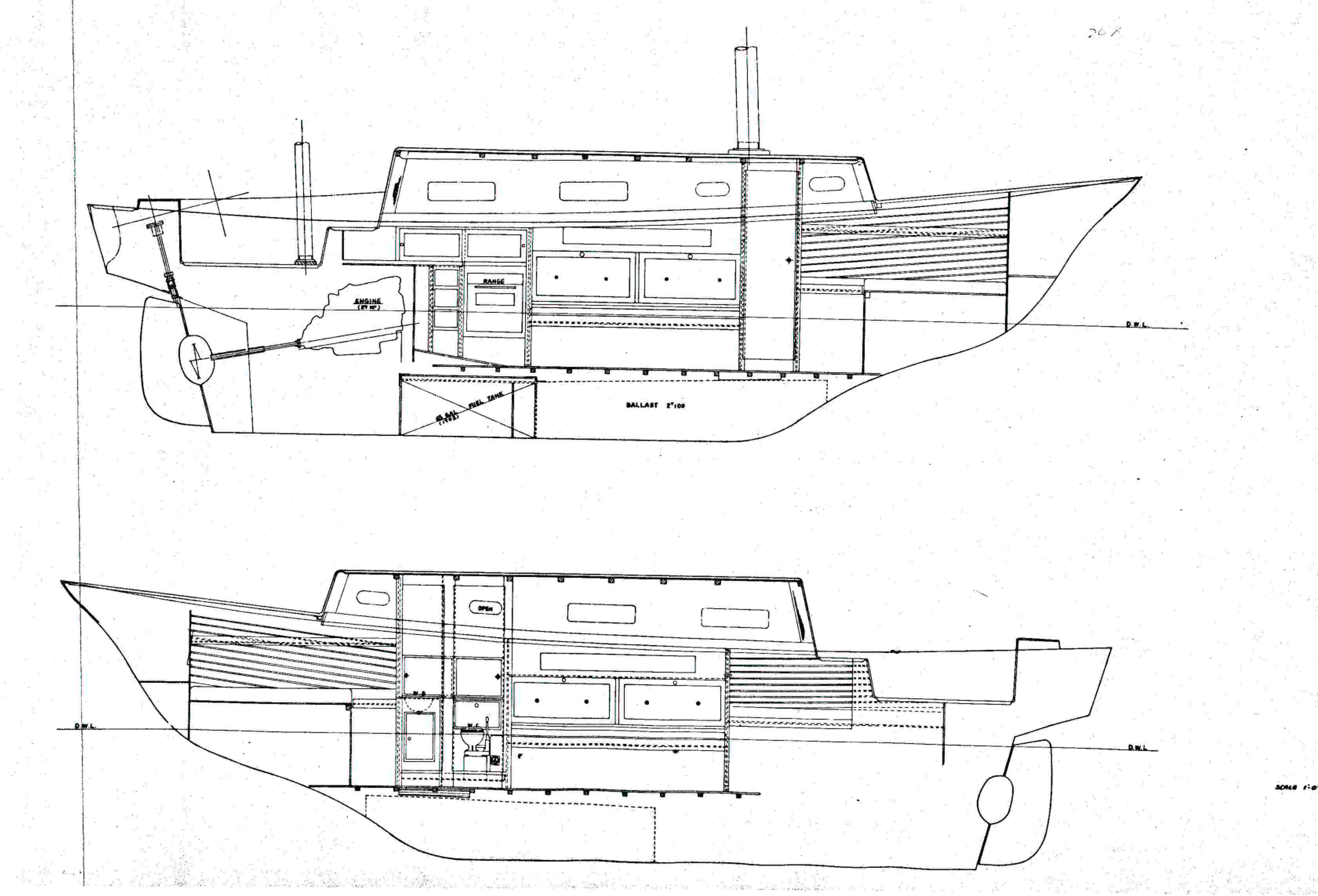 Fuji Side View Schematic