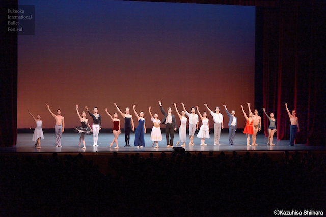 The incredibly talented performers are met with rousing applause as the gala draws to a close.