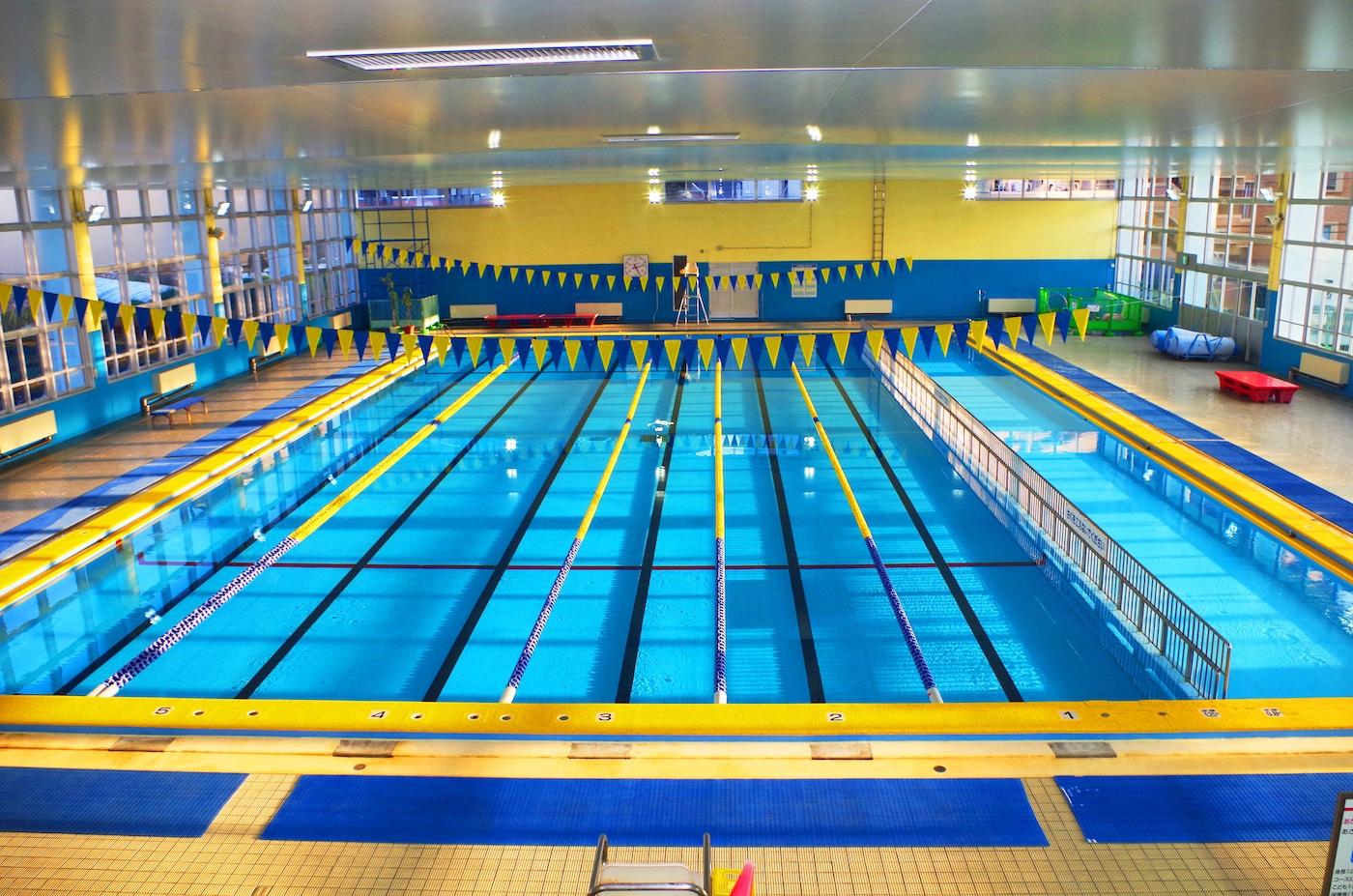 Indoor public pool  Fukuoka Public Pool Guide | Fukuoka Now