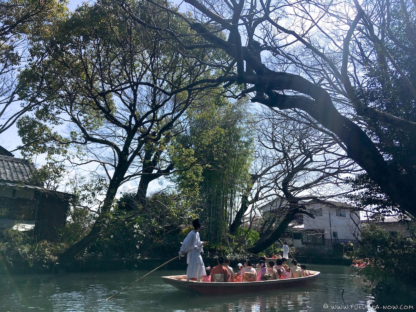 yanagawa, hina matsuri, ohina-sama water parade, fukuoka