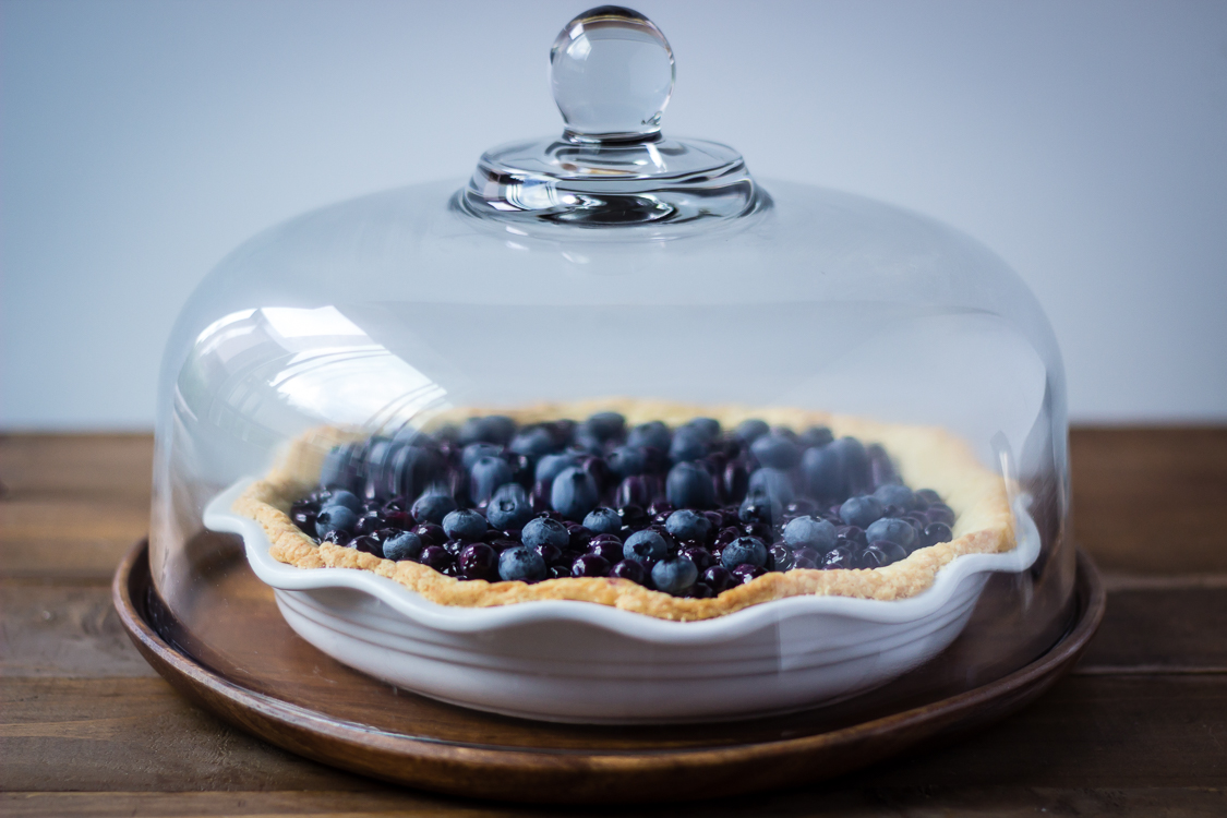 fresh blueberry pie 5