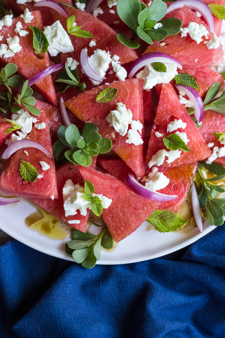 watermelon feta salad 3