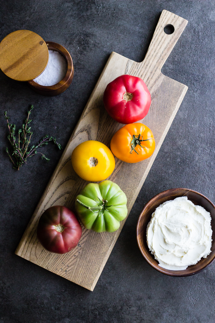 heirloom tomato tart ing