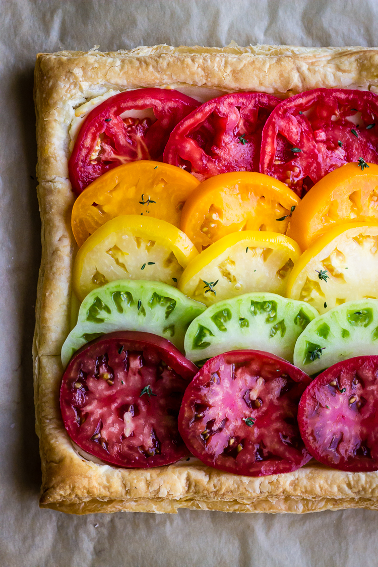 heirloom tomato tart 3