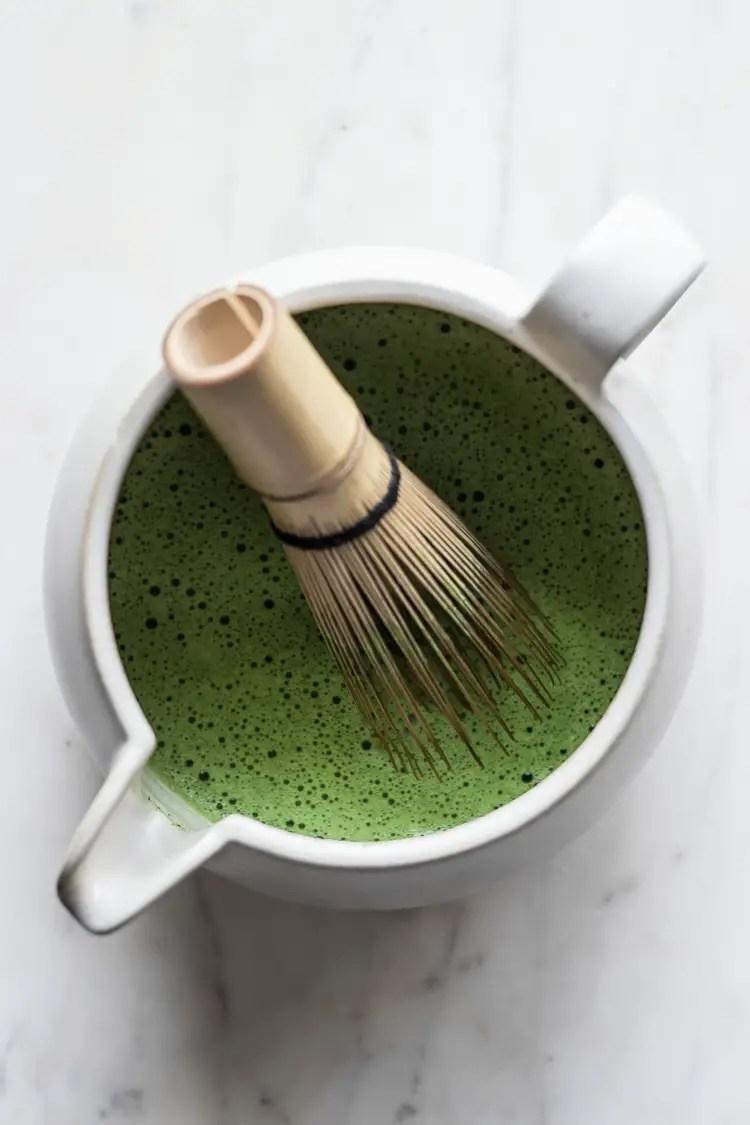 matcha pandan bubble tea