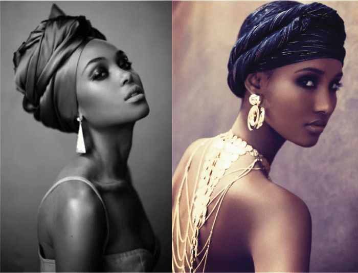 Beautiful Headwraps And Accessories Make For A Regal Look