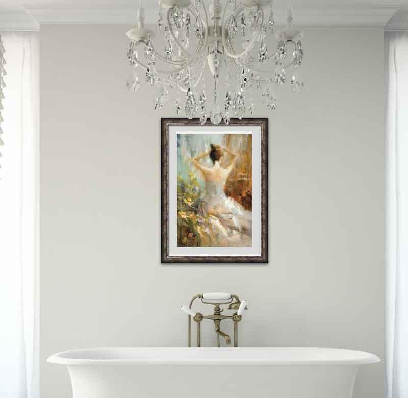 Bathroom Prints Bathroom Posters  Bathroom Canvas Art