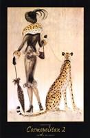 Cheetah Looking In Mirror Fine Art Print By Emma Rian At