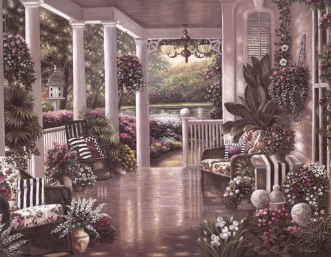 Sunday Afternoon II Fine Art Print by Betsy Brown at