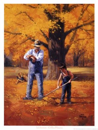 Golden Memories Fine Art Print by Jack Sorenson at