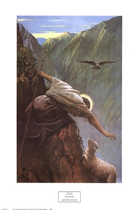 The Lost Sheep Fine Art Print by Alfred Soord at