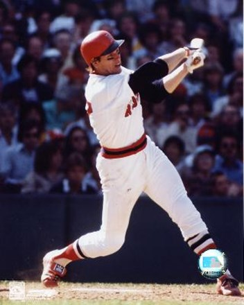 Carlton Fisk -Swinging