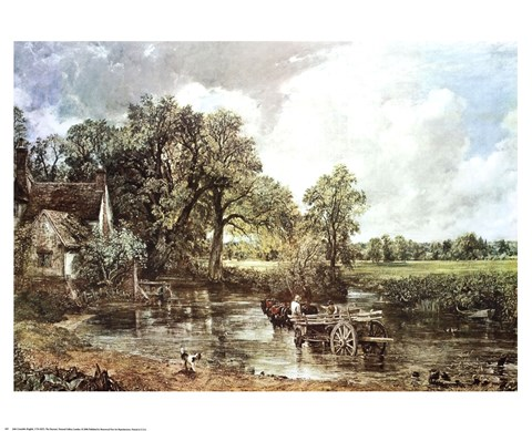 The Haywain Fine Art Print by John Constable at