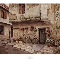 Art Paintings For Living Room White Furniture Ideas Apartments Passageway In Provence Fine Print By Roger Duvall At ...