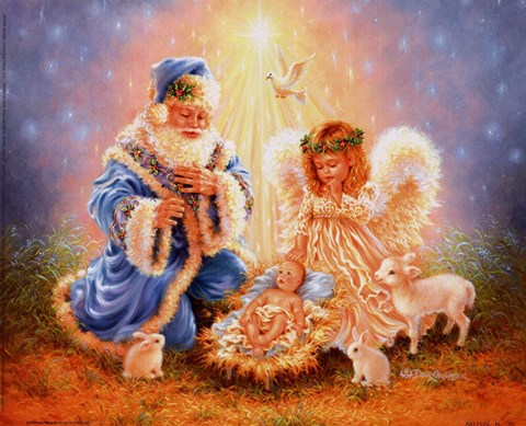 Christmas Miracle Fine Art Print by Dona Gelsinger at
